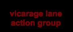 vicarage lane action group